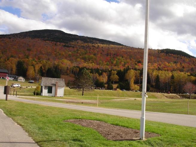 View at the base mount washington auto road