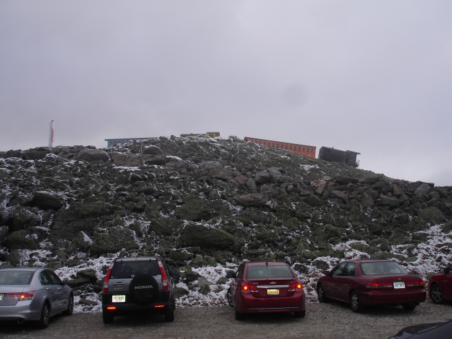 cog rail at mount washington
