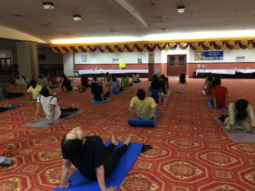 back bending yoga