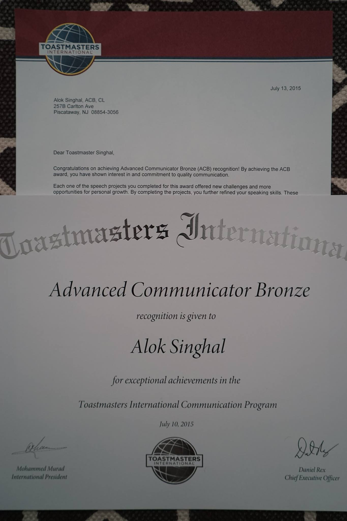 Advanced Communicator Bronze Toastmasters The Learning Curve