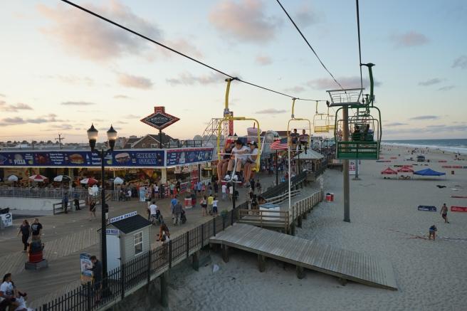 sky ride amusement seaside heights