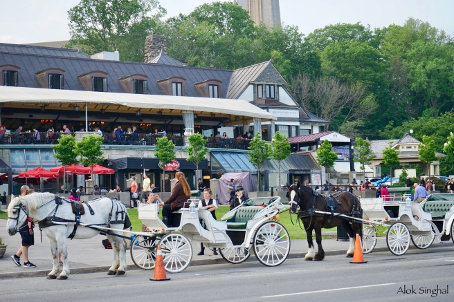 carriage ride at niagara