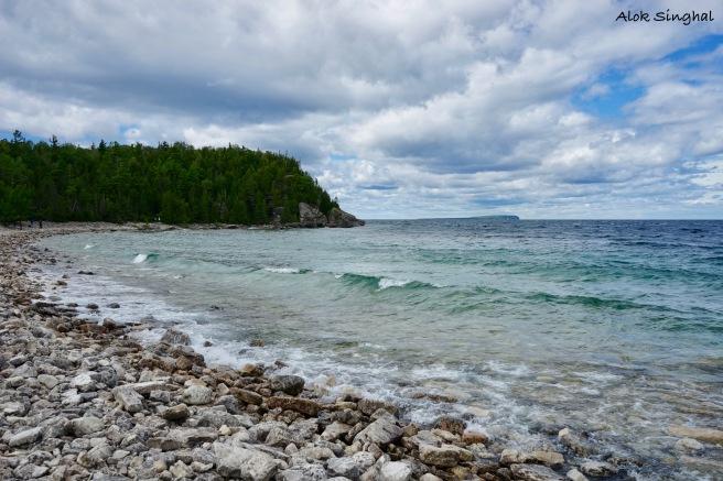 boulder beach bruce peninsula