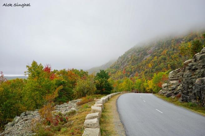 road trip in acadia