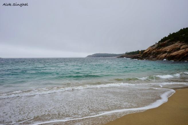 sand beach acadia