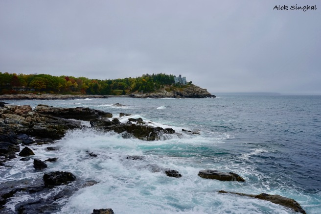 viewpoints in acadia national park