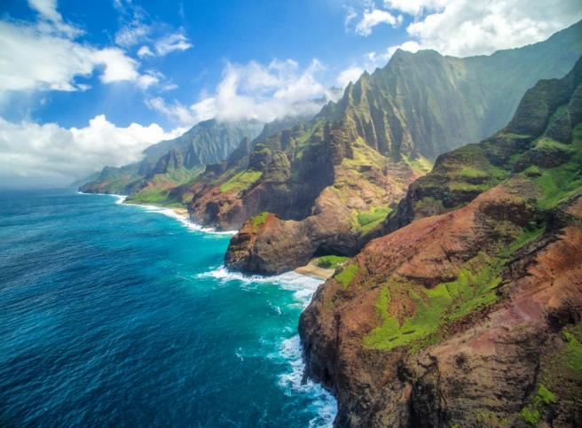 Napali Coast Hawaii