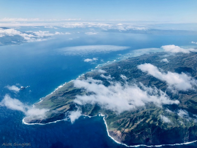 hawaii from above